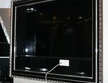 Стойка под TV, черный глянец
