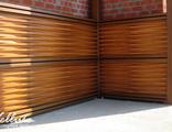 Стеновая панель из массива